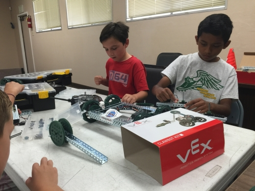Vex Claw Bot workshop