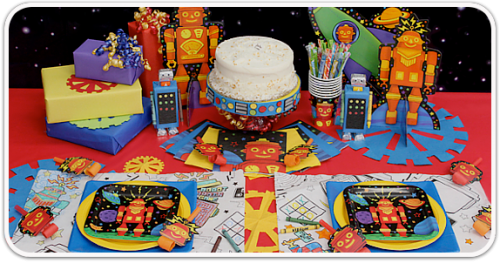 Robot Party Table