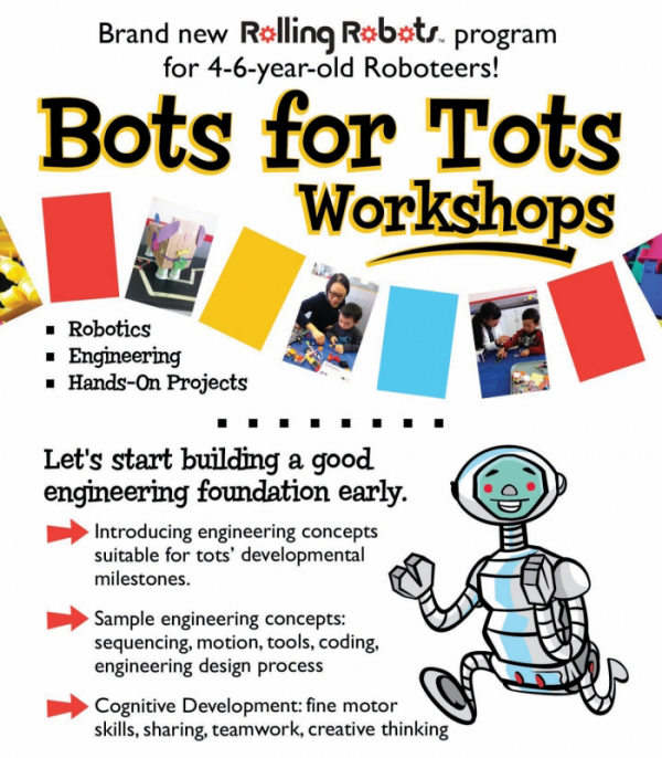 Bots for tots 4-6yrold