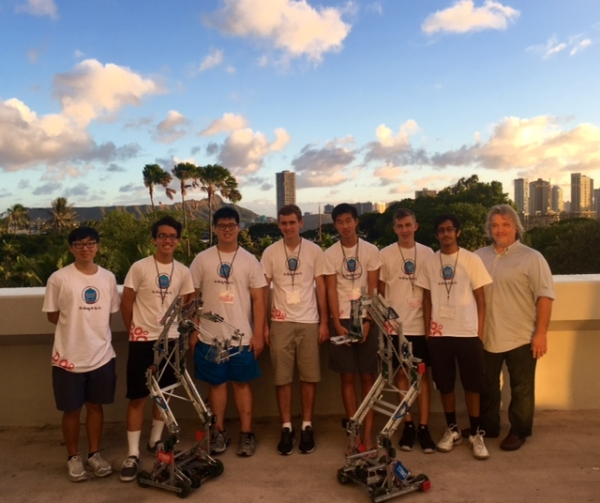 Vex Team 7700R Win Hawaii