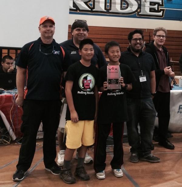 Vex Team Win Reseda