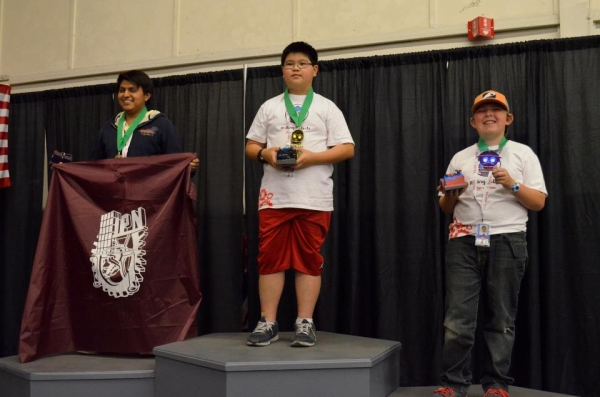 sumo medal winners at ROBOGAMES