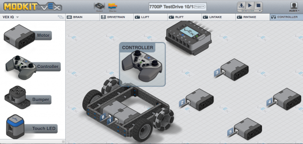 Graphical Programming VEX IQ