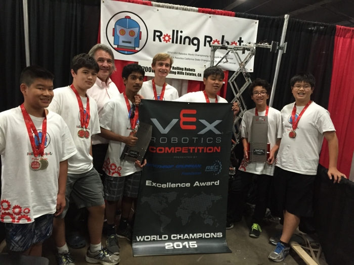 7700B wins Excellence at Vex Worlds