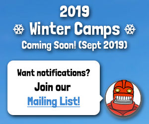 Winter Camps 2019 Coming Soon